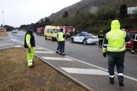 Dos muertos y dos heridos en un accidente de tráfico en Alcúdia