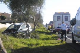 Dos heridos, uno de ellos grave, en un nuevo accidente en la carretera de Cap Blanc