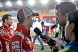 Jorge Lorenzo espera que su primera carrera con Ducati sea en seco