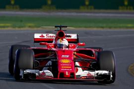 Vettel y Ferrari se anotan la victoria en la primera carrera de la temporada