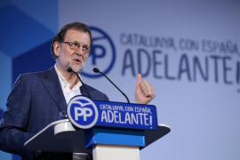 Rajoy felicita a Company tras ser proclamado presidente del PP balear