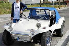 Un coche diseñado para la arena