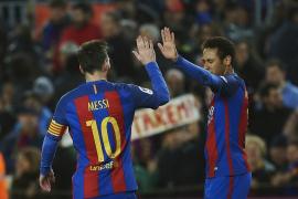 Neymar: «Messi renovará porque él es el Barça y el Barça es Messi»