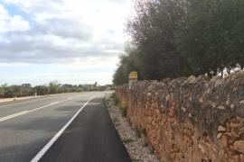 Punto kilométrico camuflado