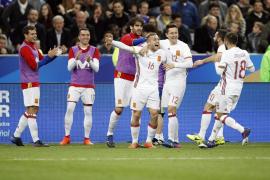 Triunfo de prestigio de España en Saint Denis