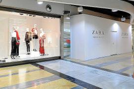 Zara amplía su tienda de Porto Pi