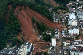Al menos 400 muertos por las lluvias en Río de Janeiro