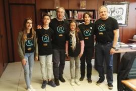Los alumnos del IES Binissalem presentan su proyecto 'Corr Pressa' centrado en conocer la realidad de los refugiados