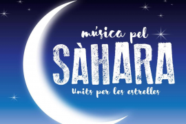 'Música pel Sàhara', un concierto solidario en el Xesc Forteza
