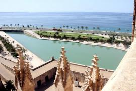 Regresan las visitas guiadas a las terrazas de la Catedral de Mallorca