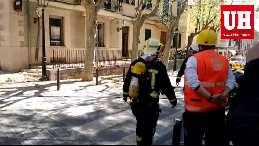 Explosión de gas junto a la sede del Ajuntament d'Esporles