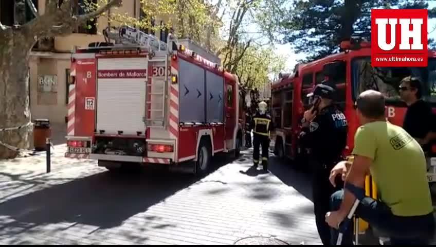 Un herido grave tras la explosión que ha causado numerosos daños en Esporles