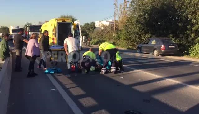 Ingresa en la UCI el motorista herido en la carretera de Santa Eulària