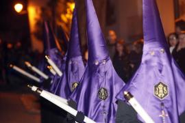Las procesiones del Lunes Santo de esta Semana Santa 2017 en Palma