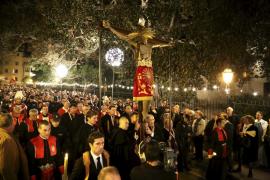 Procesión del Cristo de la Sangre de Palma en esta Semana Santa 2017