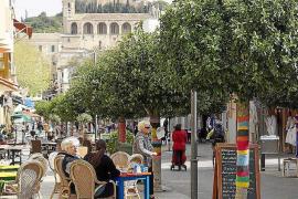 Las obras del centro de Artà se atrasan para no afectar a la temporada turística