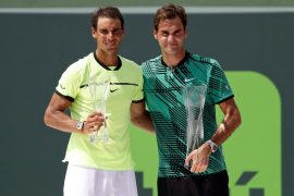 Federer tumba a Nadal en la final de Miami