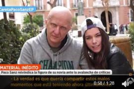 Paco Sanz sobre su novia: «Yo le rompí el bizcocho»