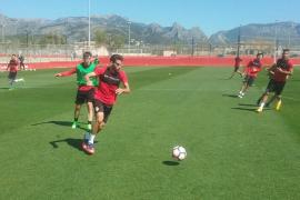 El RCD Mallorca se concentra para recibir al Gimnàstic