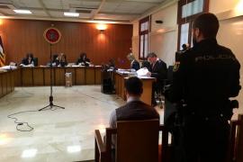 Las forenses del asesinato en Es Fortí señalan que la víctima murió por estrangulamiento