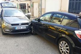 Una conductora indispuesta provoca tres accidentes seguidos en Portocolom
