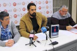 UGT se manifestará en Son Sant Joan contra la política de precios bajos de Aena