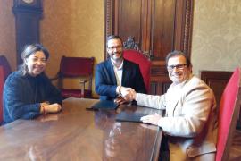 Estudiantes de la UIB realizarán prácticas en el Ayuntamiento de Palma
