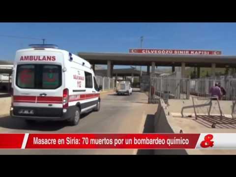 Al menos 23 niños murieron por el ataque químico en Idlib