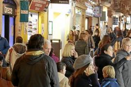 La mitad de la demanda de locales comerciales es para Sant Miquel y Jaume III