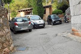La prohibición de aparcar en Biniaraix será los fines de semana