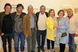 Luis Maraver expone su obra en la Galería Dionís Bennàssar