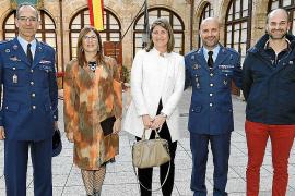 Exposición 'Imágenes de la Operación Sophia' en el Centro de Cultura Militar