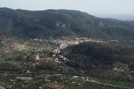 Los Gedex retiran un proyectil cargado que unos niños encontraron en Sa Comuna de Bunyola