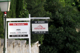 El precio de la vivienda libre disminuyó en Balears por debajo de la media nacional