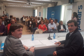 Company nombra a Prohens como vicepresidenta y a Mulet como coordinador general del PP balear