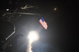 Los buques americanos que bombardearon Siria tienen base en Rota
