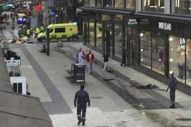 Al menos tres muertos por el atropello de un camión en el centro de Estocolmo
