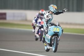 Mir domina la primera jornada de Moto3 en Argentina con autoridad