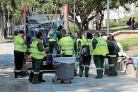 Trabajadores de Emaya, indignados por las «penosas» condiciones laborales