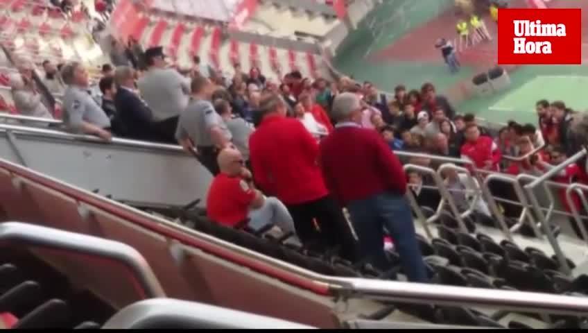 La afición explota tras el empate del Mallorca en Son Moix