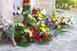 Homenaje a las víctimas de la II República en el cementerio de Porreres