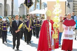 Bendición de palmas en la iglesia de Santo Domingo y posterior procesión hasta la Catedral