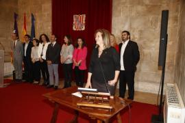 Fanny Tur toma posesión como nueva consellera de Cultura, Participación y Deportes