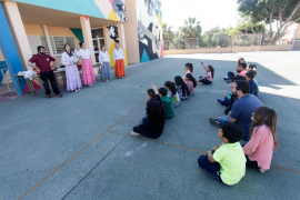 Jornadas culturales en CEIP Cas Serres (Fotos: Daniel Espinosa).