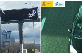 Dos cámaras velan por el uso del cinturón en las carreteras de Mallorca