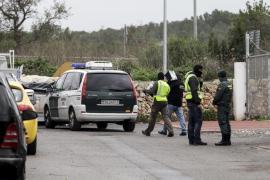 Dos detenidos por asaltar una vivienda en Ibiza y herir a sus inquilinos
