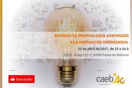 Proyectos de innovación empresarial, elegidos finalistas a los Premios CAEB-Santander