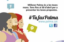 Abierto el plazo para presentar propuestas de mejora en los Presupuestos Participativos 2018 de Palma