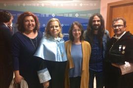 La UIB celebra el acto de investidura de Carme Riera como doctora Honoris Causa