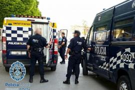 Un conductor ebrio provoca el pánico durante una persecución por las calles de Palma